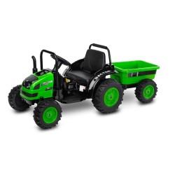 toyz traktor hector pojazd na akumulator green