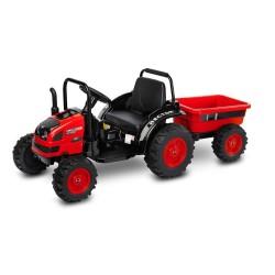toyz traktor hector pojazd na akumulator red