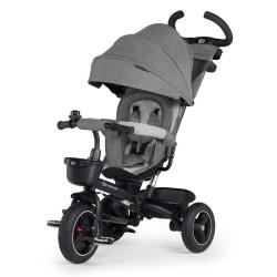 kinderkraft spinste rowerek trójkołowy grey