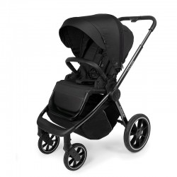 muuvo quick 3.0 chrome black wózek spacerowy black