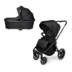 muuvo quick 3.0 chrome black wózek 2w1 z gondolą xl black