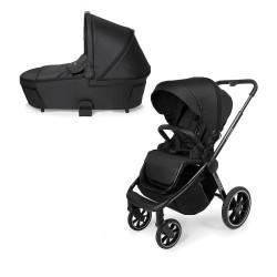 muuvo quick 3.0 chrome black wózek 2w1 black