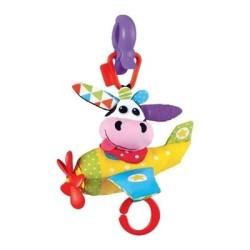 yookidoo muzyczny samolot krowa zawieszka do wózka