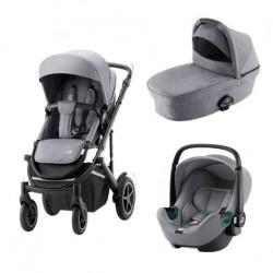 britax&romer smile 3 wózek 3w1 z fotelikiem baby safe 3 i-size