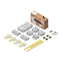 modu dreamer kit 12in1 kreatywne klocki rozwijające motorykę dużą żółte
