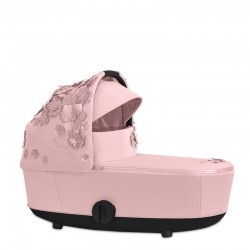 cybex mios 2.0 simply flowers gondola lux do wózka pink