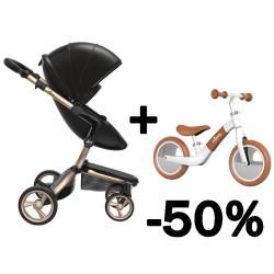 mima xari 4g wózek 2w1 + rowerek zoom -50% promo