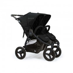 bumbleride indie twin wózek bliźniaczy matteblack