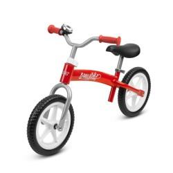 toyz brass rowerek biegowy red