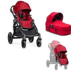 baby jogger wózek city select+dodatkowe siedzisko+gondola