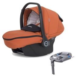 riko fotelik samochodowy kite isofix ready do wózka re-flex  + baza isofix