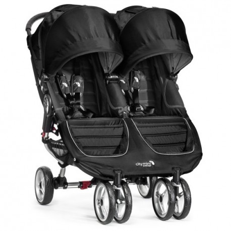 BABY JOGGER WÓZEK CITY MINI PODWÓJNY BLACK/GRAY