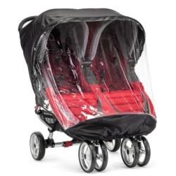 baby jogger folia przeciwdeszczowa do wózka city mini podwójny