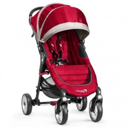 BABY JOGGER WÓZEK CITY MINI 4-KOŁOWY CRIMSON/GRAY