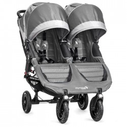 BABY JOGGER WÓZEK CITY MINI GT PODWÓJNY STEEL GRAY