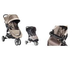 baby jogger wózek city mini single+folia przeciwdeszczowa+tacka