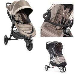 baby jogger wózek city mini gt+folia przeciwdeszczowa+pałąk