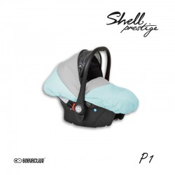 babyactive carlo fotelik samochodowy do wózka shell prestige
