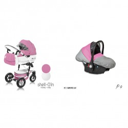 babyactive wózek shell eko + gondola + fotelik