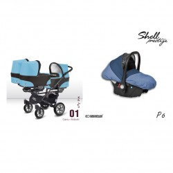 babyactive wózek trippy + gondola + fotelik